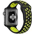 Apple Watch Series 2 Nike+ 38mm Vesmírně šedý hliník s černým / Volt sportovním řemínkem Nike