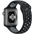 Apple Watch Nike+ 42mm Vesmírně šedý hliník s černým / chladně šedým sportovním řemínkem Nike