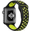 Apple Watch Series 2 Nike+ 42mm Vesmírně šedý hliník s černým / Volt sportovním řemínkem Nike
