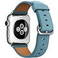 Apple 38mm Ledňáčkově modrý s klasickou přezkou