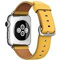 Apple 38mm Měsíčkově žlutý s klasickou přezkou