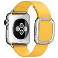 Apple 38mm Měsíčkově žlutý s moderní přezkou - Large
