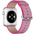 Apple Sport 42mm  Růžový z tkaného nylonu