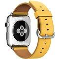 Apple 42mm Měsíčkově žlutý s klasickou přezkou