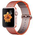 Apple 42mm Vesmírně oranžový/ antracitově šedý z tkaného nylonu