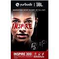 Yurbuds Inspire 300 černá