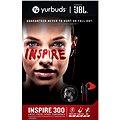 Yurbuds Inspire 300 červeno-černá