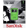 SanDisk Sansa Clip Jam 8GB světle zelený