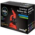 Levenhuk Rainbow 50L Moonstone - šedý