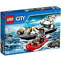 LEGO City 60129 Policie, Policejní hlídková loď