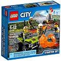 LEGO City 60120 Sopeční průzkumníci, Sopečná startovací sada