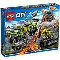 LEGO City 60124 Sopeční průzkumníci, Sopečná základna průzkumníků