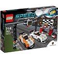LEGO Speed Champions 75912 Porsche 911 GT v cílové rovince