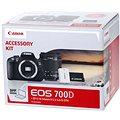 Canon EOS 700D + EF-S 18-55mm IS STM + LP-E8