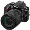 Nikon D3400 černý + 18-105mm VR