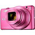 Nikon COOLPIX S7000 růžový + poudro