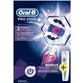 Oral-B Pro 2500 3D White Pink + Travel Case