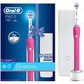 Oral-B Pro 750 3DWhite Pink + Cestovní pouzdro