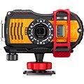 PENTAX RICOH WG-5 GPS Orange + 16 GB SD karta + neoprénové pouzdro + plavací řemínek