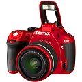 PENTAX K-50 red + objektivy DAL 18-55mm WR + DAL 50-200mm WR