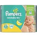PAMPERS New Baby-Dry vel. 2 Mini (43 ks)