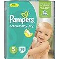 PAMPERS Active Baby-Dry vel. 5 Junior (28 ks)