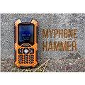 MyPhone Hammer oranžovo-černý Dual SIM