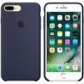 APPLE iPhone 7 Plus Silikonový kryt půlnočně modrý