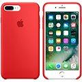 APPLE iPhone 7 Plus Silikonový kryt červený