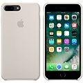 APPLE iPhone 7 Plus Silikonový kryt kamenně šedý