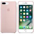 APPLE iPhone 7 Plus Silikonový kryt pískově růžový