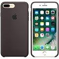 APPLE iPhone 7 Plus Silikonový kryt kakaově hnědý