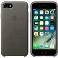 APPLE iPhone 7 Kožený kryt bouřkově šedý