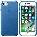 APPLE iPhone 7 Kožený kryt jezerně modrý