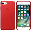 APPLE iPhone 7 Kožený kryt červený