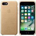 APPLE iPhone 7 Kožený kryt žlutohnědý