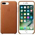 APPLE iPhone 7 Plus Kožený kryt sedlově hnědý