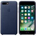 APPLE iPhone 7 Plus Kožený kryt půlnočně modrý
