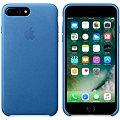 APPLE iPhone 7 Plus Kožený kryt jezerně modrý