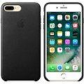 APPLE iPhone 7 Plus Kožený kryt černý