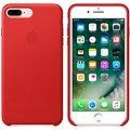 APPLE iPhone 7 Plus Kožený kryt červený