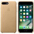 APPLE iPhone 7 Plus Kožený kryt žlutohnědý