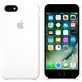 APPLE iPhone 7 Silikonový kryt bílý