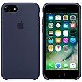 APPLE iPhone 7 Silikonový kryt půlnočně modrý