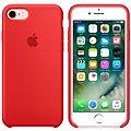 APPLE iPhone 7 Silikonový kryt červený