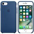 APPLE iPhone 7 Silikonový kryt mořsky modrý