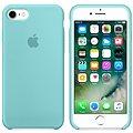 APPLE iPhone 7 Silikonový kryt jezerně modrý
