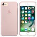 APPLE iPhone 7 Silikonový kryt pískově růžový