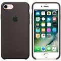 APPLE iPhone 7 Silikonový kryt kakaově hnědý