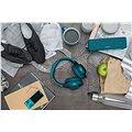 Sony Hi-Res H.ear MDR-100ABN zelenomodrá